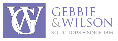 This image has an empty alt attribute; its file name is Gebbie-Wilson-Logo.png