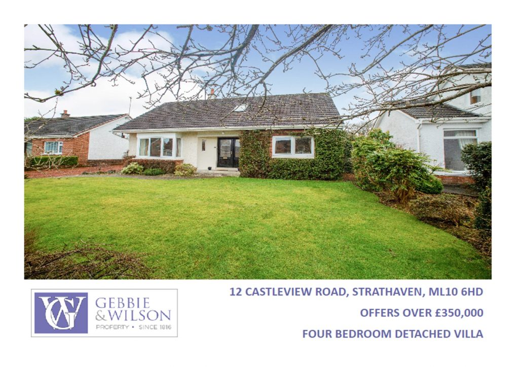 12 Castleview Road Strathaven for sale