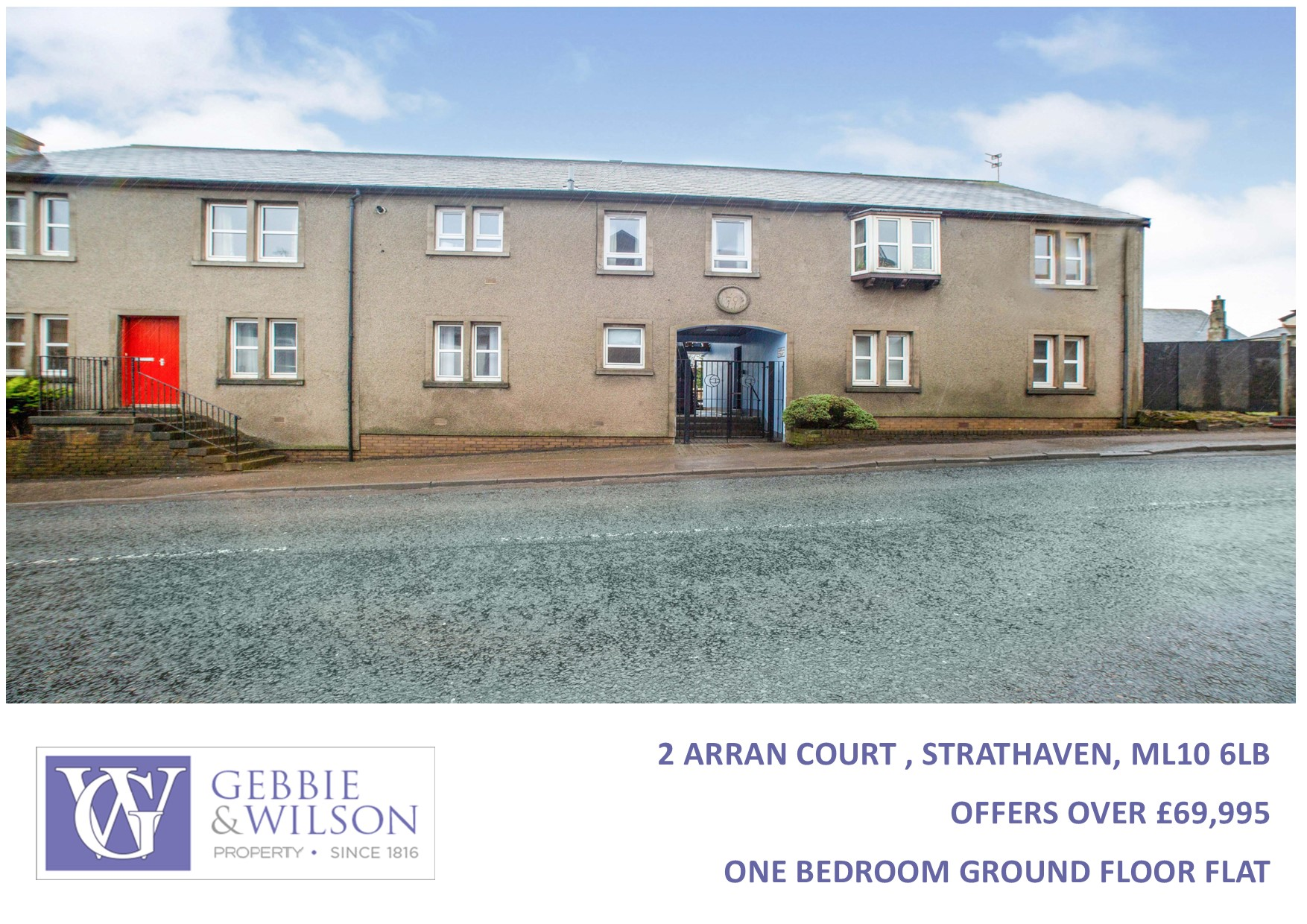 2 Arran Court Strathaven - For Sale