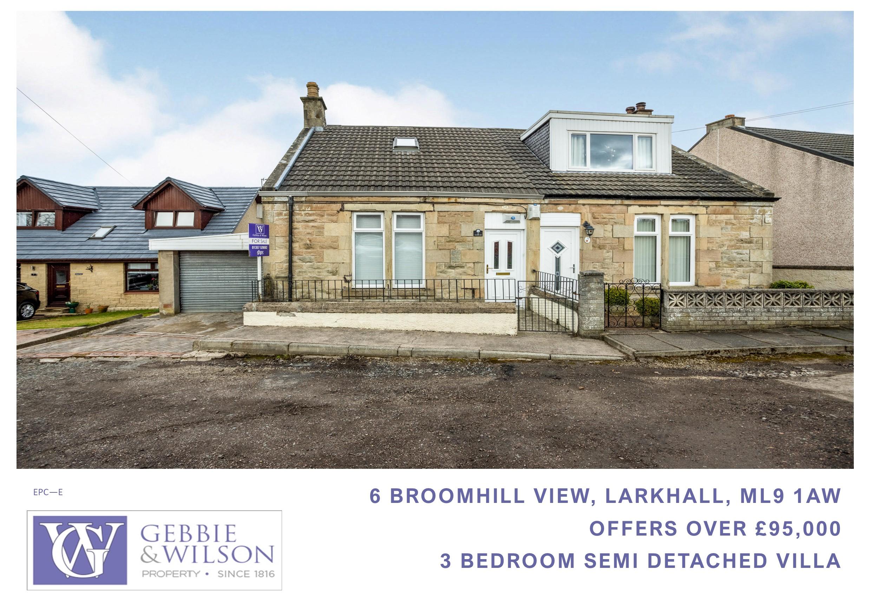 6 Broomhill View, Larkhall